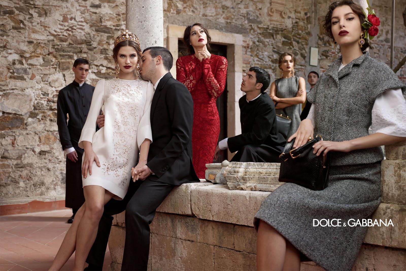 Для съемок рекламной кампании весенне-летней коллекции - 2017 dolce  gabbana отправляются на капри